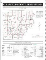 Index Map, Clearfield County 1999